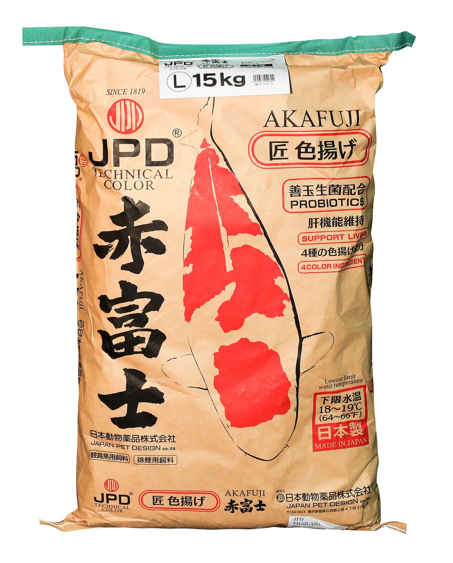 JPD AKAFUJI COLOR TAKUMI 15KG  (M, L)